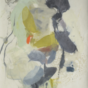Tracey Adams - Guna B, Pigmented wax on Okawara, 40×26, 2016