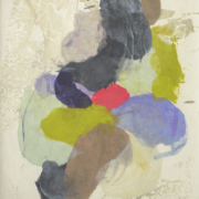 Tracey Adams - Guna E, Pigmented Wax on Okawara paper, 39×26, 2016