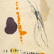 Tracey Adams - Sattva 29 encaustic and ink Shikoku, 2018 38.5×26