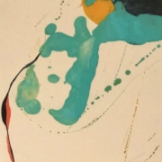 Tracey Adams - 01.05.20, Encaustic, collage and ink, 2020