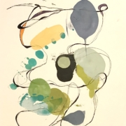 Tracey Adams - 06.04.20, Encaustic, Collage and Ink, 2020