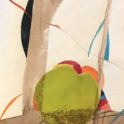 Tracey Adams - 06.06.20, Encaustic, Collage and Ink, 2020