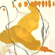 Tracey Adams - 12.04.20, Encaustic, Collage and Ink, 2020