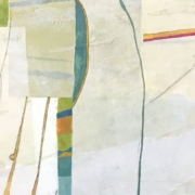 Tracey Adams - 12.06.20, Encaustic, Collage and Ink, 2020