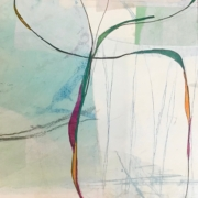 Tracey Adams - 17.05.20, Encaustic, Collage and Ink, 2020