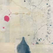 Tracey Adams - 28.05.20, Encaustic, Collage and Ink, 2020